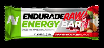 Endurade Raw Bar  Cranberry Almond