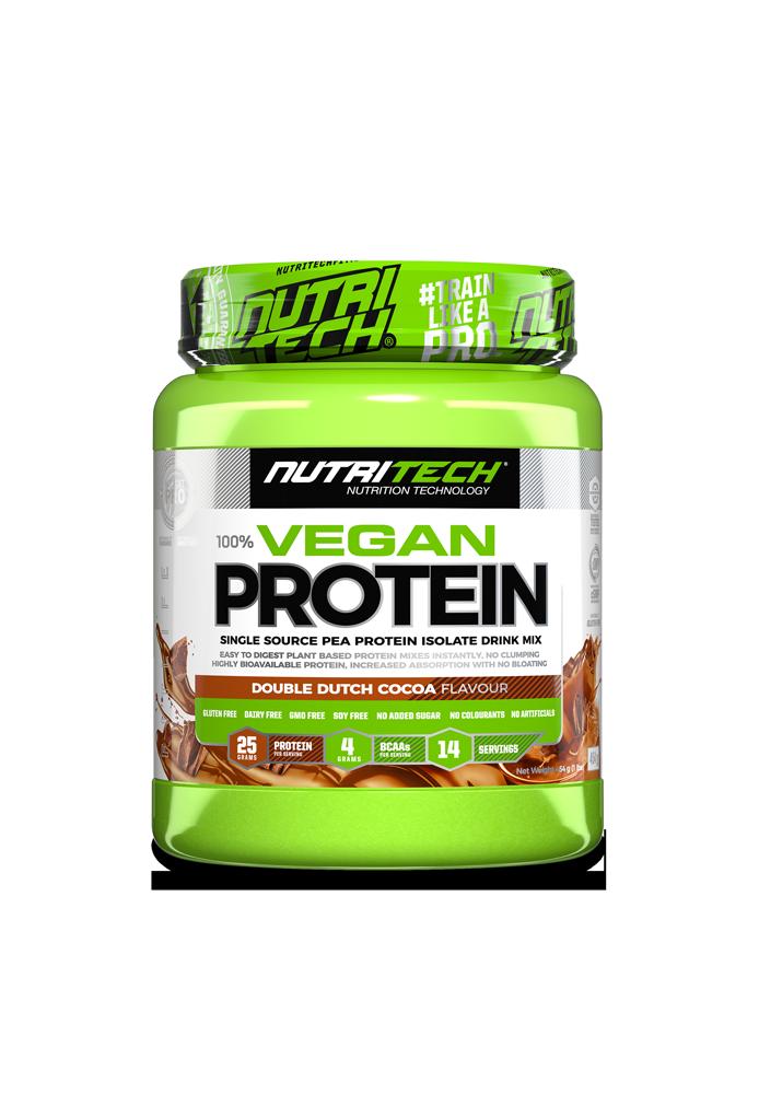 Nutritech 100% Vegan Protein - Double Dutch Chocolate
