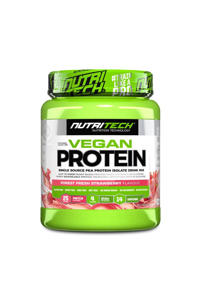 Nutritech 100% Vegan Protein - Forest Fresh Strawberry