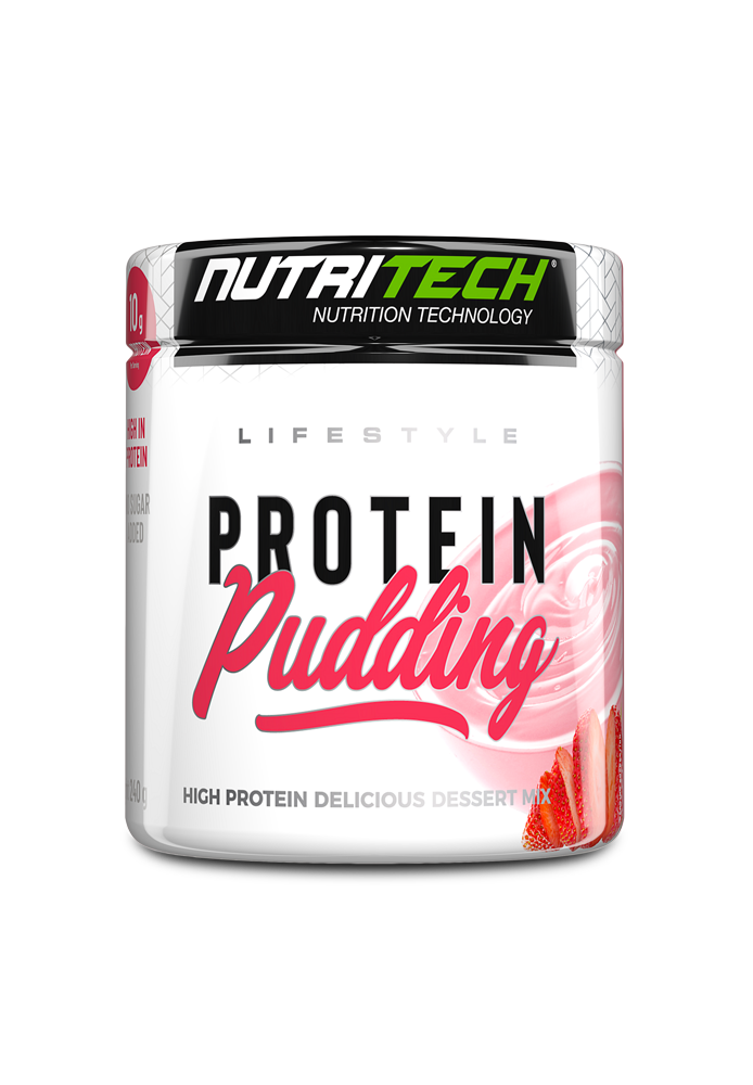 Nutritech Lifestyle Pudding - Strawberry Cream
