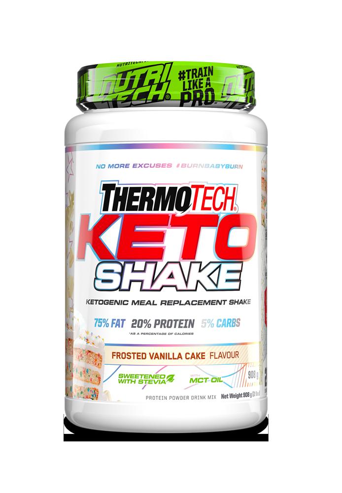 Thermotech KETO Shake - Frosted Vanilla Cake