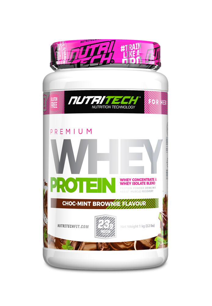 NUTRITECH Premium Whey Protein for Her ChocMint Brownie