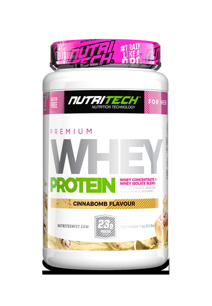 NUTRITECH Premium Whey Protein for Her Cinnabomb