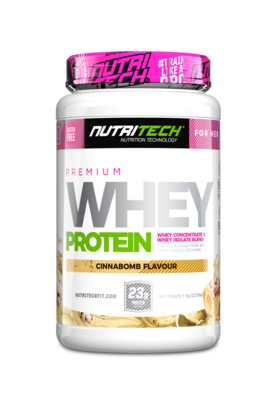 NUTRITECH Premium Whey Protein for Her Cinnabomb