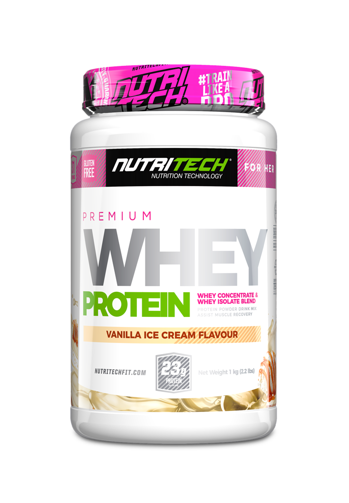 NUTRITECH Premium Whey Protein for Her Vanilla Ice-Cream