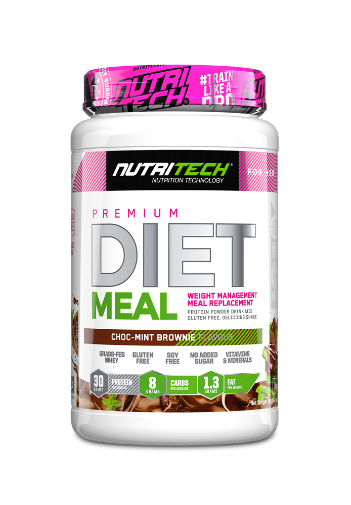Nutritech Diet Meal - ChocMint Brownie