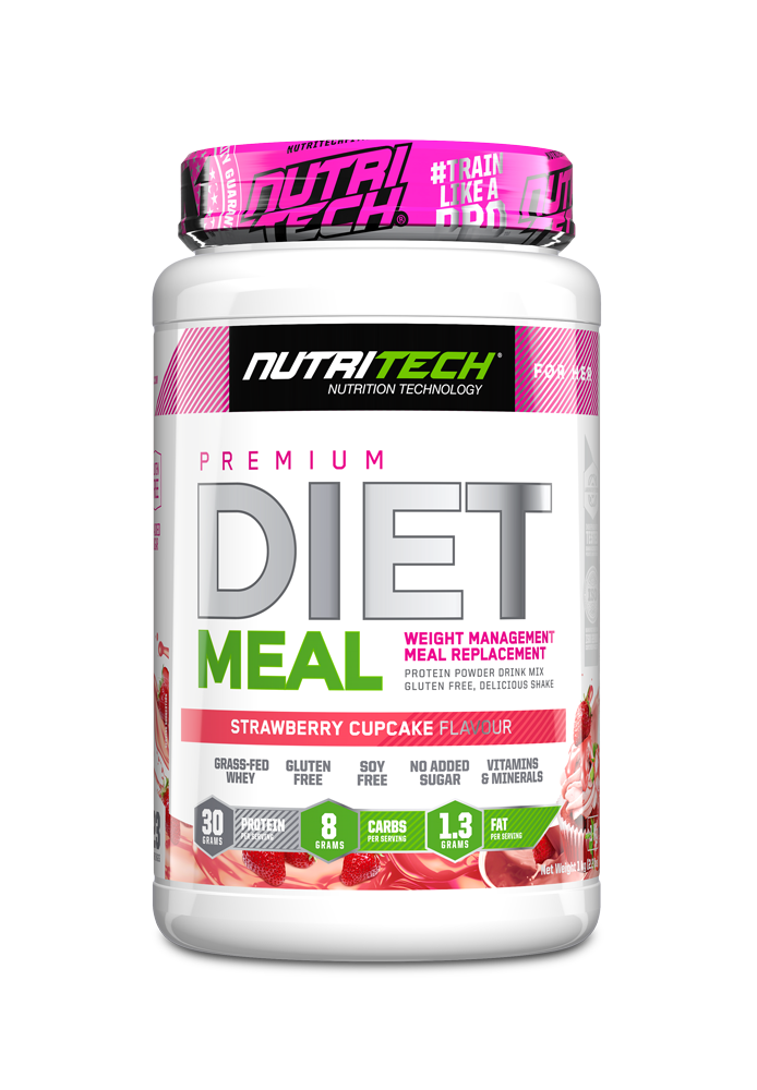 Nutritech Diet Meal - Strawberry Cupcake