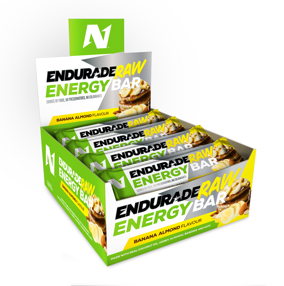 Endurade Box of Bars 12 - Banana Almond