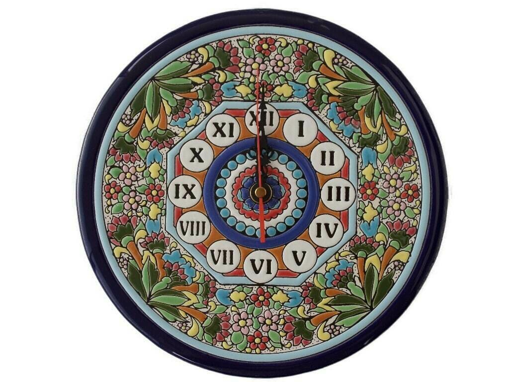"""9"""" Ceramic Wall Clock"""