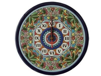 "9"" Ceramic Wall Clock"