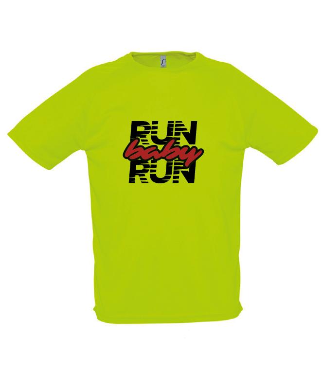 Run Baby Run Tech T-Shirt