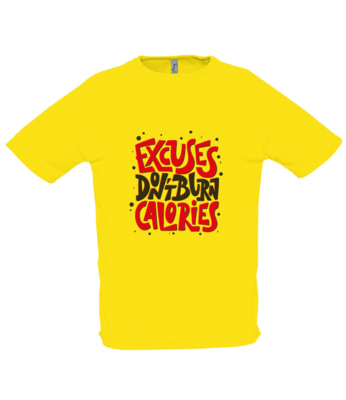 Excuses Tech T-Shirt
