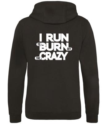 Run Crazy Casual Hoodie