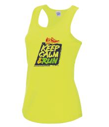 Ladies Keep Calm Tech Vest