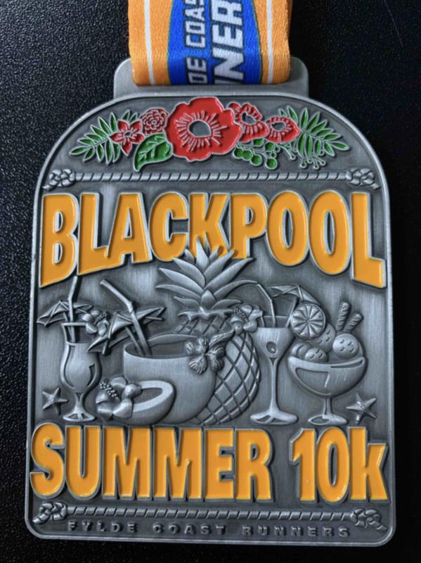 Blackpool Summer 10k Medal