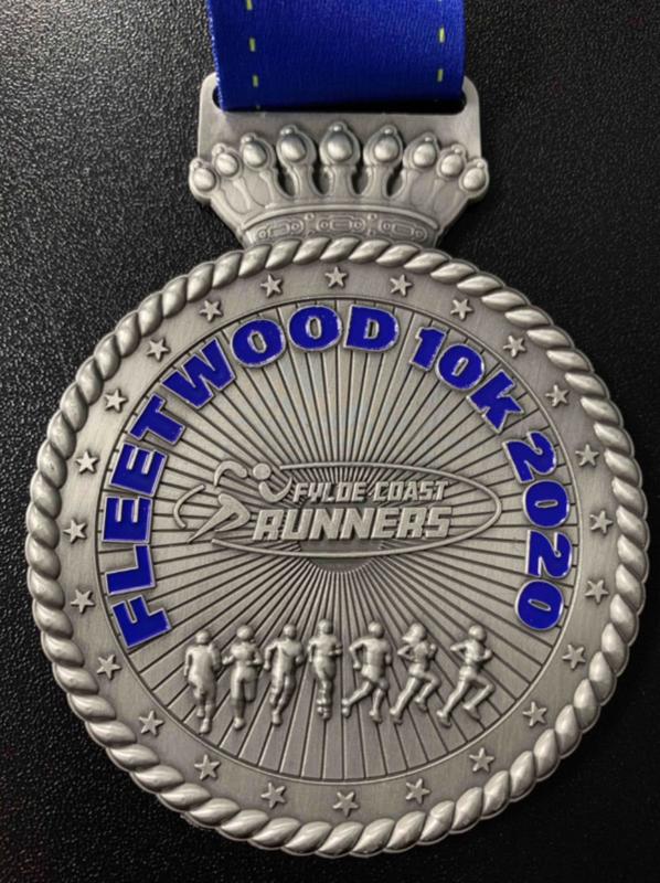 Fleetwood 10k Medal