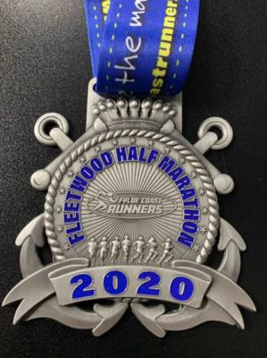 Fleetwood Half Marathon Medal