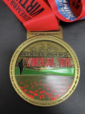 Remembrance Day 10k Medal
