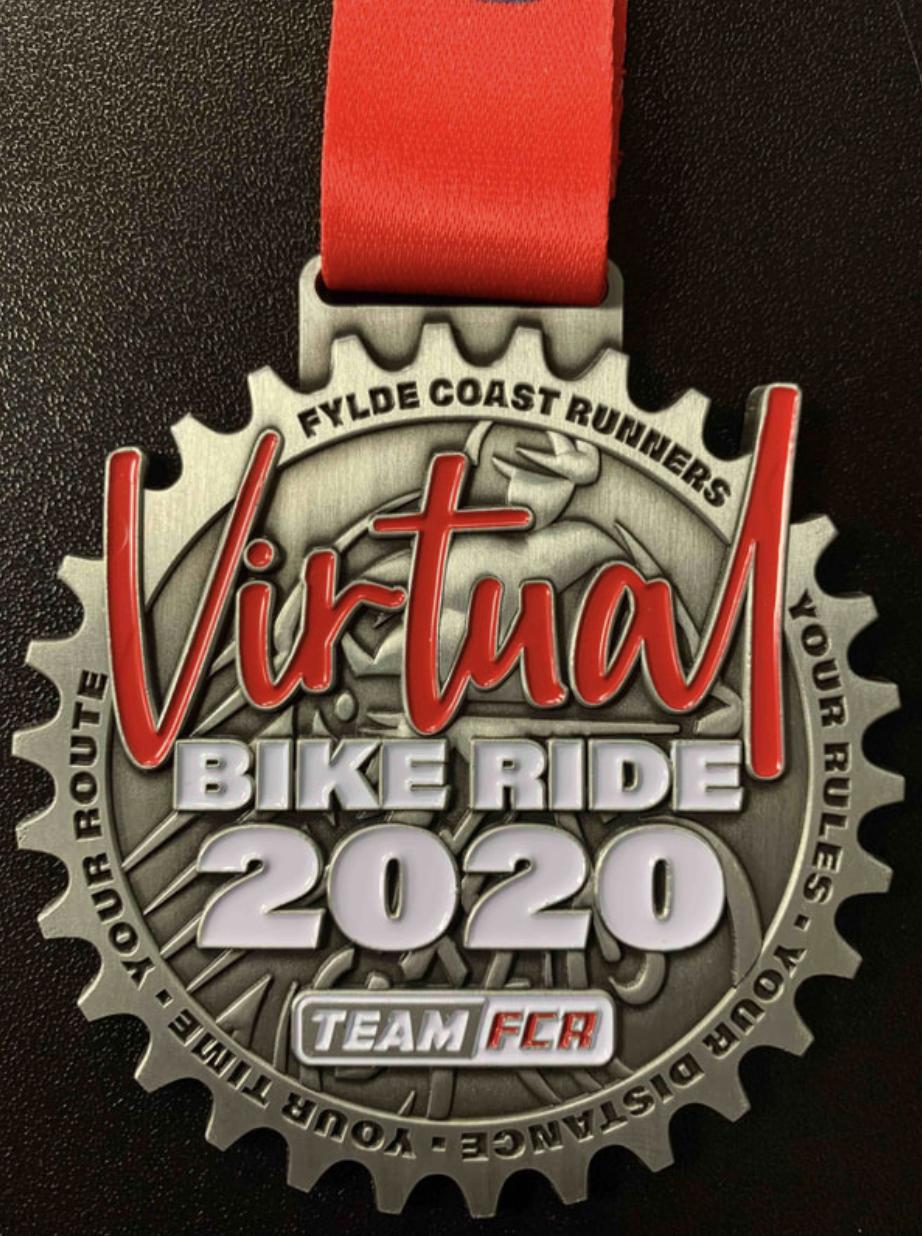 Virtual Bike Ride Medal