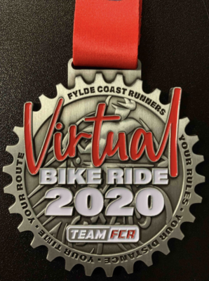 Virtual Bike Ride Medal