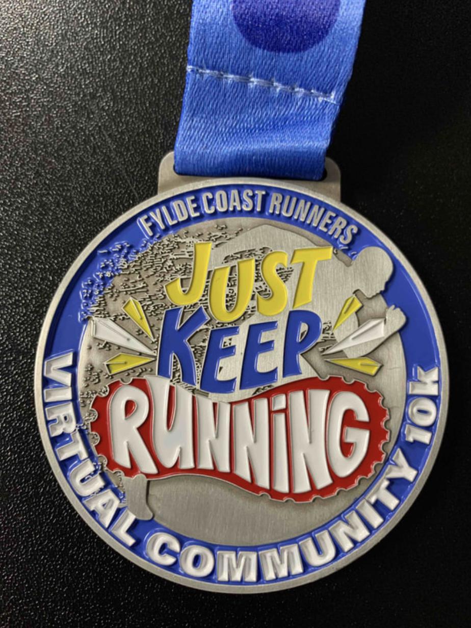 Virtual Community 10k Medal