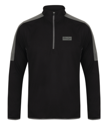RunLife Zip Neck Midlayer Top