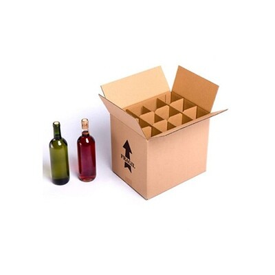 12 bottle Wine Shipping Box