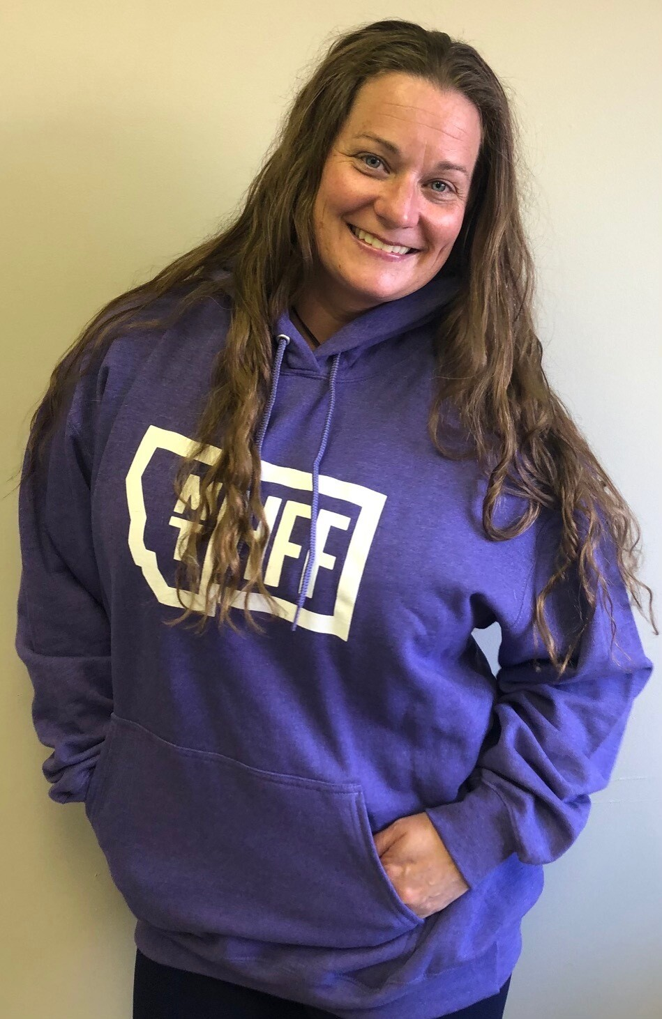 Montana Hempfest Family 100% Cotton Hoodie - Heather Purple