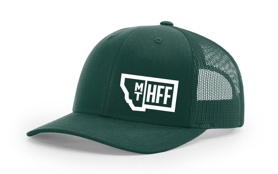 Montana Hempfest Family Trucker Hat - Green