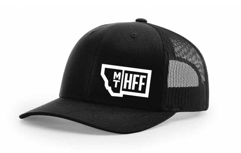 Montana Hempfest Family Trucker Hat - Black
