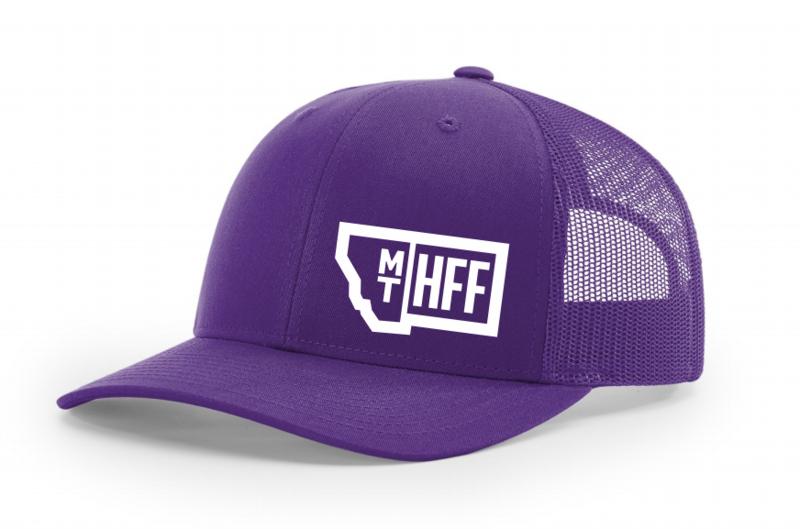 Montana Hempfest Family Trucker Hat - Purple