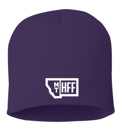 Montana Hempfest Family Beanie - Purple