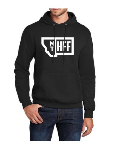 Montana Hempfest Family 100% Cotton Hoodie - Black