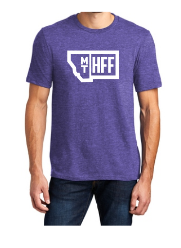 Montana Hempfest Family 100% Cotton T-Shirt - Heather Purple