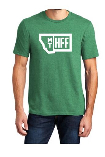 Montana Hempfest Family 100% Cotton T-Shirt - Heather Green