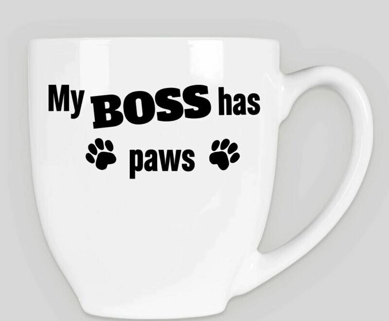 My Boss 14oz Bistro Mug