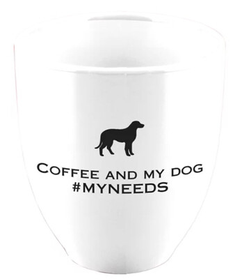 Bistro Mug 15 oz Coffee and My Dog