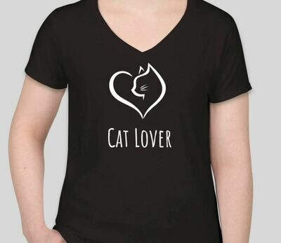 Cat Lover (Women) Black