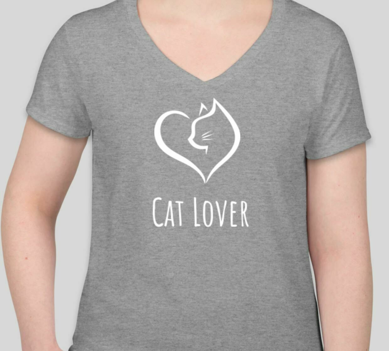 Cat Lover (Women) Gray