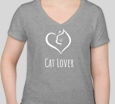 Cat Lover (Women) Gray