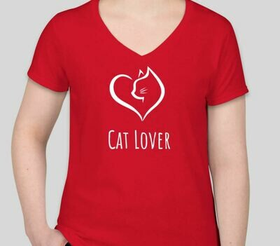 Cat Lover (Women) Red