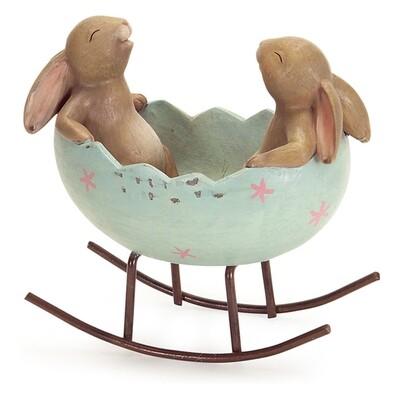 EA201 Rabbits in Rockin Egg