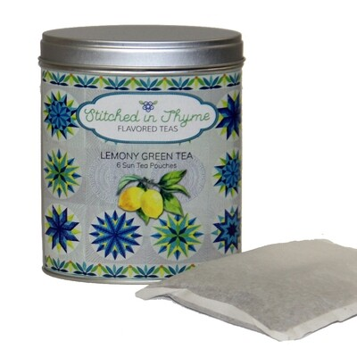 TSUN Tea Tins with Sun Tea Packets
