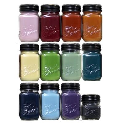 BR8 Barn Candles - 8 oz Jars