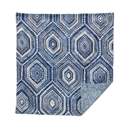 KL223SQ Blue Batik Table Square