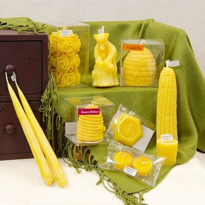 MBC Beeswax Candles