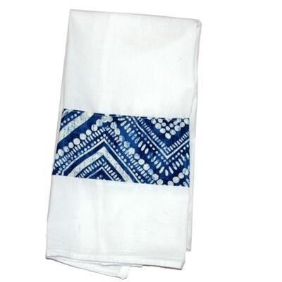 KL223T Blue Batik Tea Towel