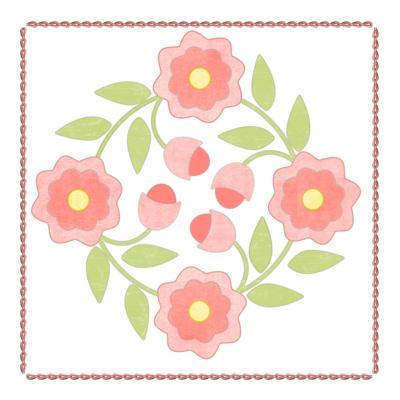 ZV8 Flower Quilt