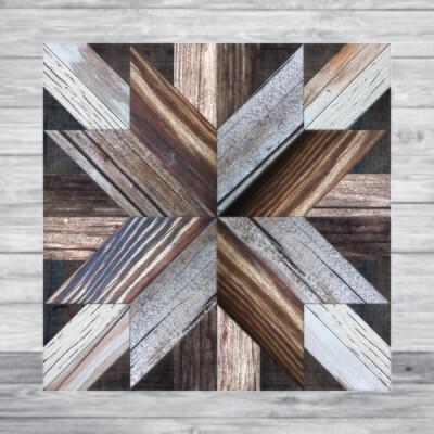ZV8 Wood Quilt Canvas