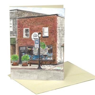 KSCD Shellday Framable Greeting Card